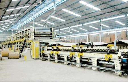 QHCL-120-3/5/7 Ply Corrugated Cardboard Production Line
