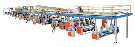 QHCL-100-3/5 Corrugated Cardboard Production Line