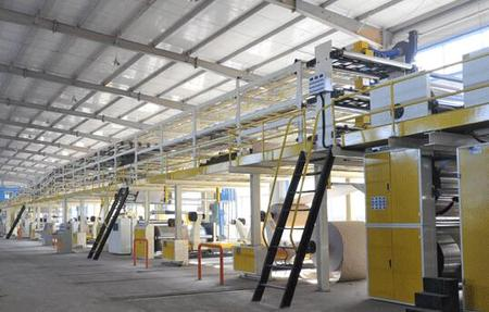 QHCL-200-3/5/7 Ply Corrugated Cardboard Production Line