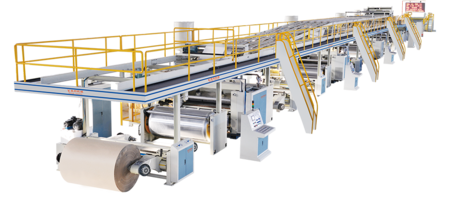 QHCL-250-3/5 Corrugated Cardboard Production Line